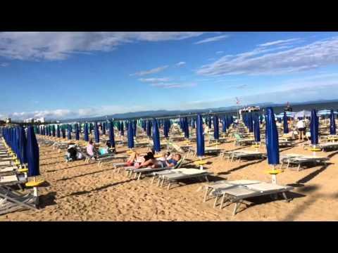 North Italy Adriatic Sea beaches