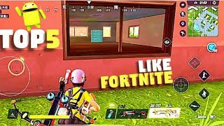 Top 7 Games Like Fortnite for Android || Moste Play ||