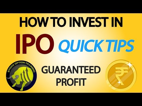 IPO investment Strategy in India -  Analyse Past IPO and invest in  Stocks
