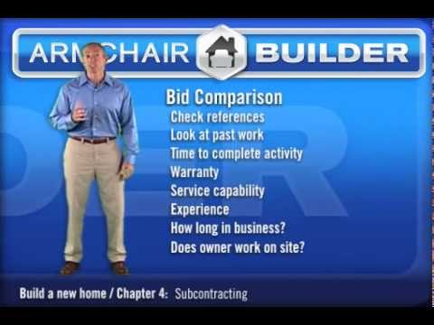 Build Your Own Home As The General Contractor