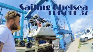 Ep 37 - Sailing Chelsea - How to Anti-foul a Boat : Part 1