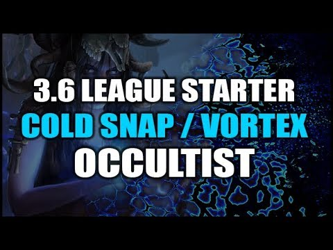 Path of Exile 3 6 Build Guide: Cold Snap / Vortex Occultist - League Starter