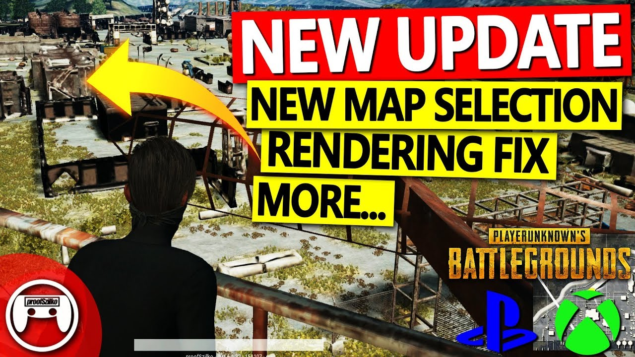 New Update for PUBG PS4 & Xbox One - Rendering Fix, Map Selection & More - PUBG Console Apri