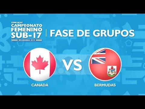 CU17W: Canada v Bermuda