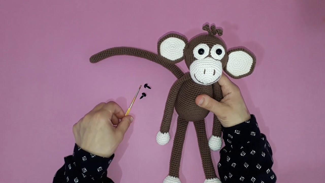 Amigurumi maymun yapımı amigurumi örgü oyuncak maymun yapılışı amigurumi maymun tarifi tanıtım -01