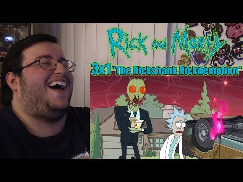 "Thumbnail: Gors Rick and Morty - 3x1 ""The Rickshank Rickdemption"" Reaction (Full Reaction in Description)"