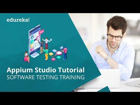Appium Studio Tutorial for Beginners | Software Testing Training | Edureka thumbnail