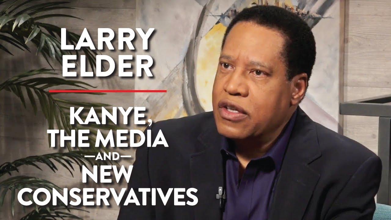Kanye West, the Media, & New Conservatives | Larry Elder | POLITICS | Rubin Report