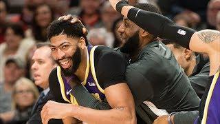 Rodney Hood Achilles Injury, Davis 39 Pts! 2019-20 NBA Season