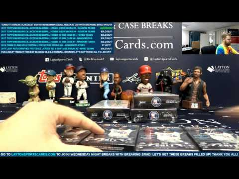 2017 Topps Museum Collection Baseball Hobby 6 Box Break #3 – RANDOM TEAMS