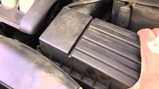 1 Min. Anleitung: Luftfilter wechseln bei meinem VW Golf 5 Diesel V ohne Musik V