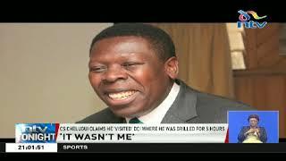 CS Chelugui blames former Water CS Eugene Wamalwa for stalled Itare dam project