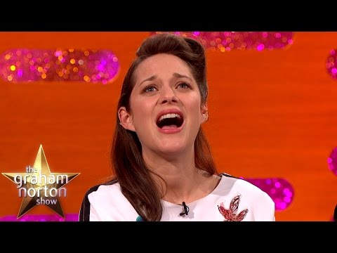 Marion Cotillard Is Amazing at Lip Syncing - The Graham Norton Show