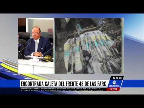Ejército Nacional halla gigantesca caleta de las Farc en Putumayo