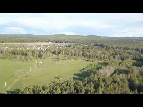 Кушва посёлок Дачный.  Квадрокоптер