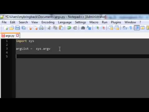 Learn Python Programming Tutorial 21 | Command Line Arguments
