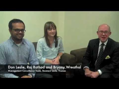 New roles in Management Consulting at BLT - Don Leslie, Raj Rathod and Bryony Wreathall