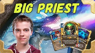 Thijs is playing nice Malygos Big Priest (Kobolds and Catacombs)