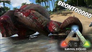 BRONTO NOOOOOO!! Ark Survival en Español - GOTH