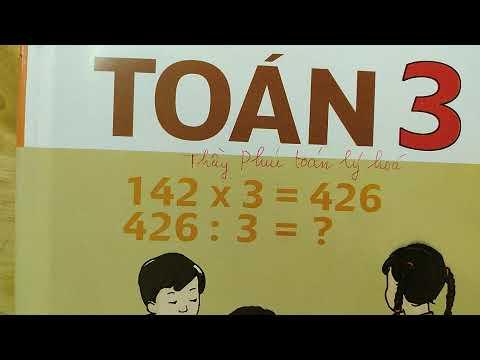 TOÁN LỚP 3 BÀI TẬP SGK trang 12 - ÔN TẬP VỀ GIẢI TOÁN  | Thầy Phúc toán lý hóa