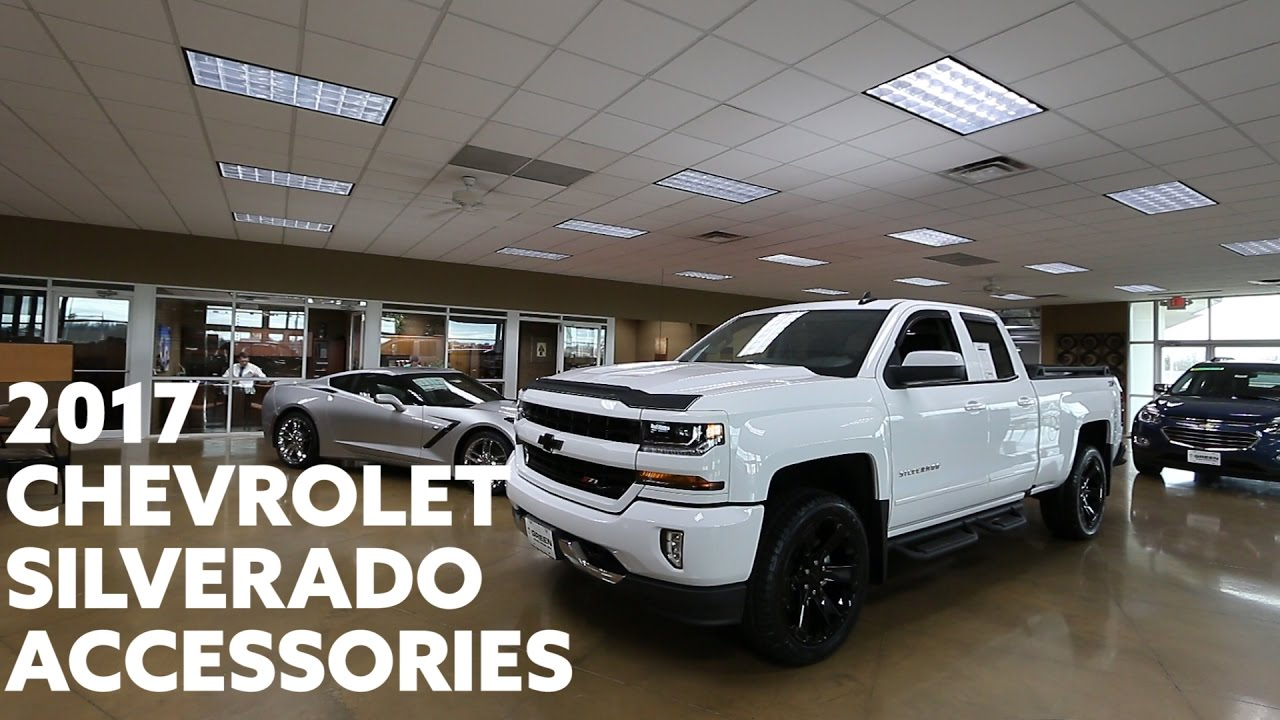 Chevy Truck Accessories >> 2017 Chevrolet Silverado Accessories