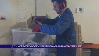 "Yvelines | ""Ma vie d'entrepreneure"" avec Ugoline Soler, dirigeante de ""Recnorec"""