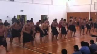 Saint Pauls Samoan Group performing to their Tongan Group peers