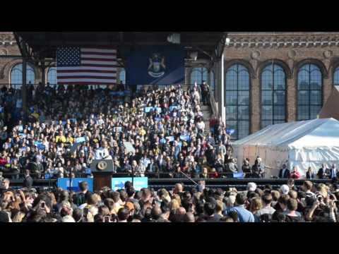 President Obama's Speech at the University of Michigan