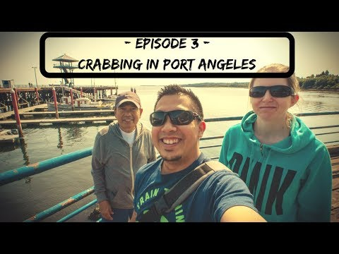 Crabbing In Port Angeles Washington- Vlog Ep. 3 - Chicken For Crab Bait??