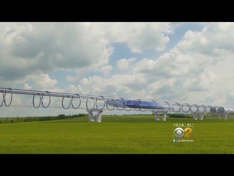 Futuristic Tube Train Coming To Chicago?