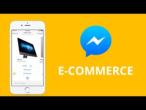 Chatbot E-commerce Messenger - Accept credit card payment for your products or services.