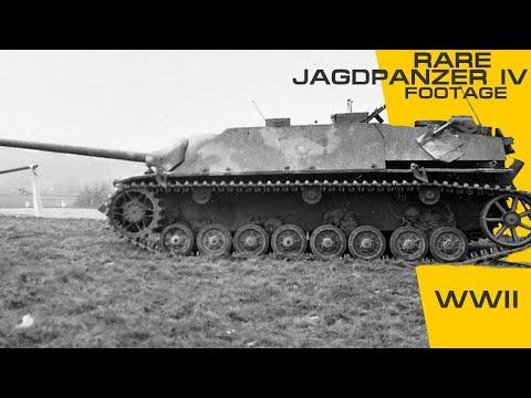Rare Jagdpanzer IV Footage.