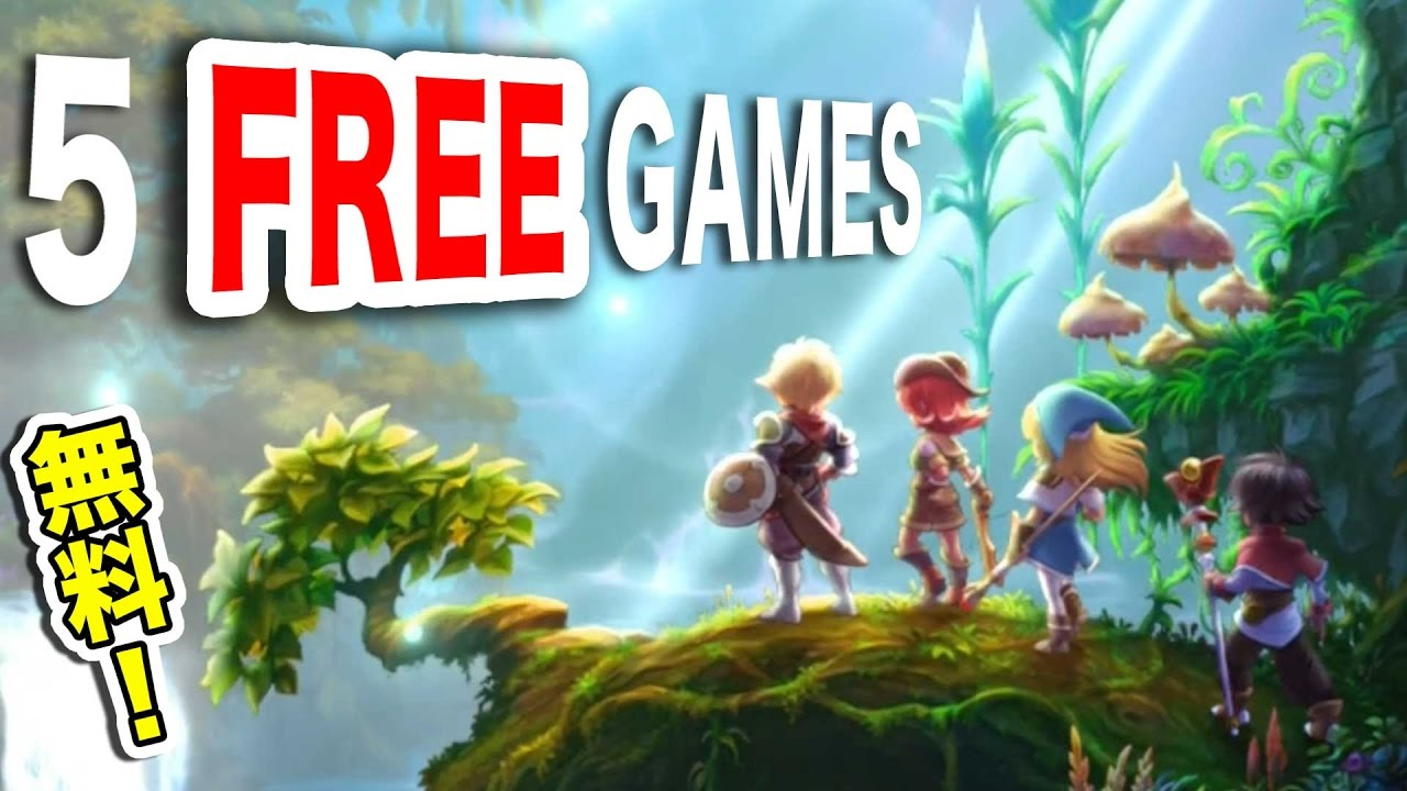 TOP 5 FREE GAMES in JAPAN|Win...