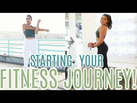 How To Start Your Fitness Journey! My Top Tips! | Jeanine Amapola