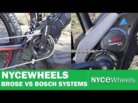 Bosch vs Brose - Mid Drive Motor Comparison