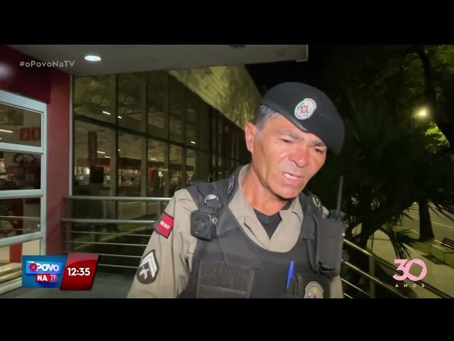 Supermercado é assaltado na madrugada de hoje na Epitácio - O Povo na TV