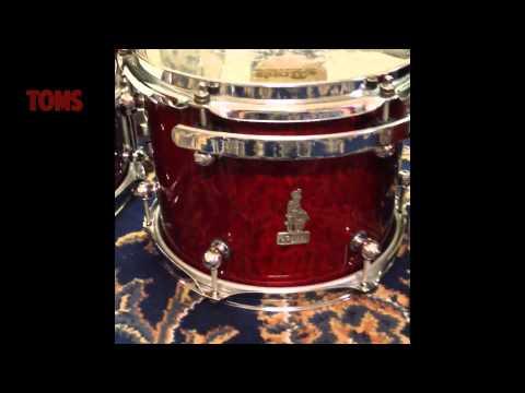 Brady Jarrah Ply Drum Kit 6 peice
