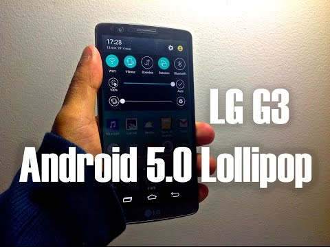 Android 5.0 LG G3 Review + Download Link