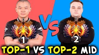 TOP-1 vs TOP-2 mid - BEST SEA vs BEST CIS MidOne vs Noone