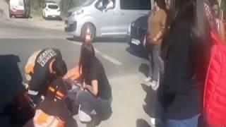 Accidente Deja Ciclista Lesionada   En Linea Maule
