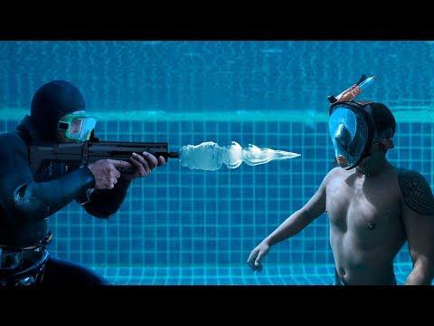 ¿Qué Pasó Cuando Le Dispararon Bajo El Agua?
