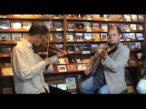 Dingle record shop/ sessions/ Traditional fiddle playing