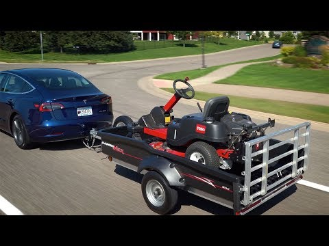 A CargoMax™ Pulled by a Tesla? on trailer hitch harness, trailer generator, trailer brakes, trailer plugs, trailer fuses, trailer mounting brackets,