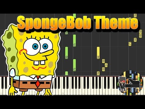 Spongebob sweet victory [piano cover tutorial] (♫) youtube.