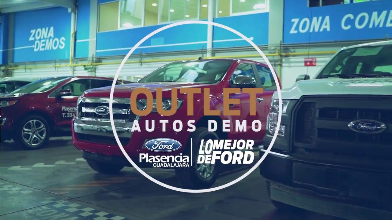 Outlet De Autos Demo Ultimos Modelos Ford 2017 Ford Plasencia