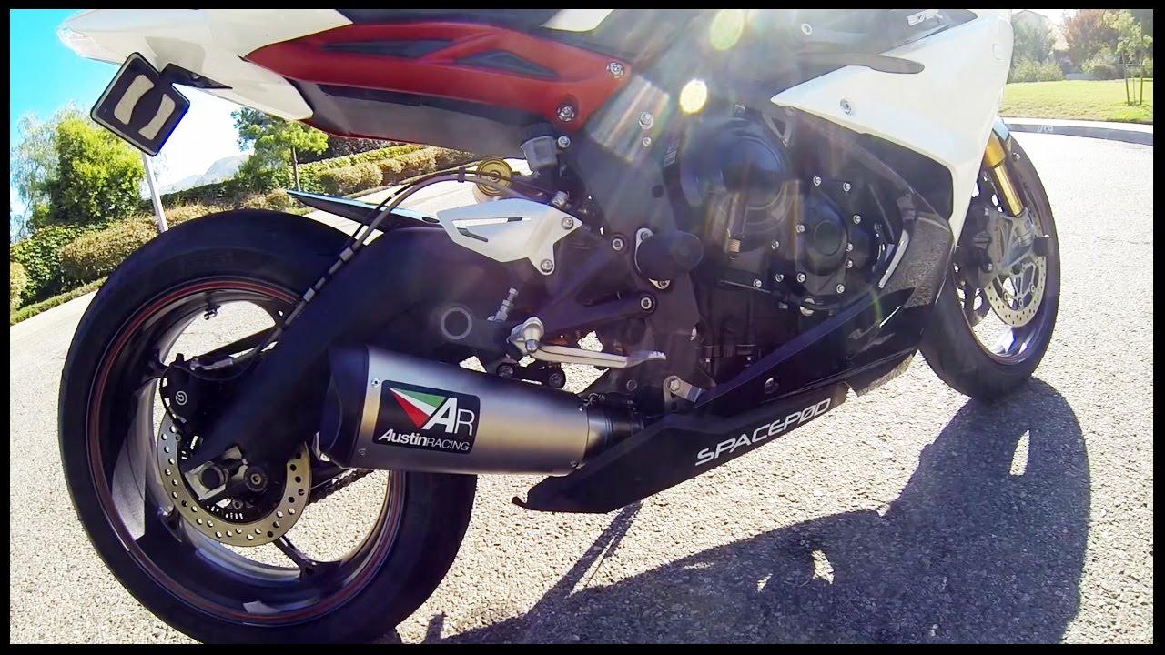 Austin Racing V3 Titanium Exhaust Audio Demo