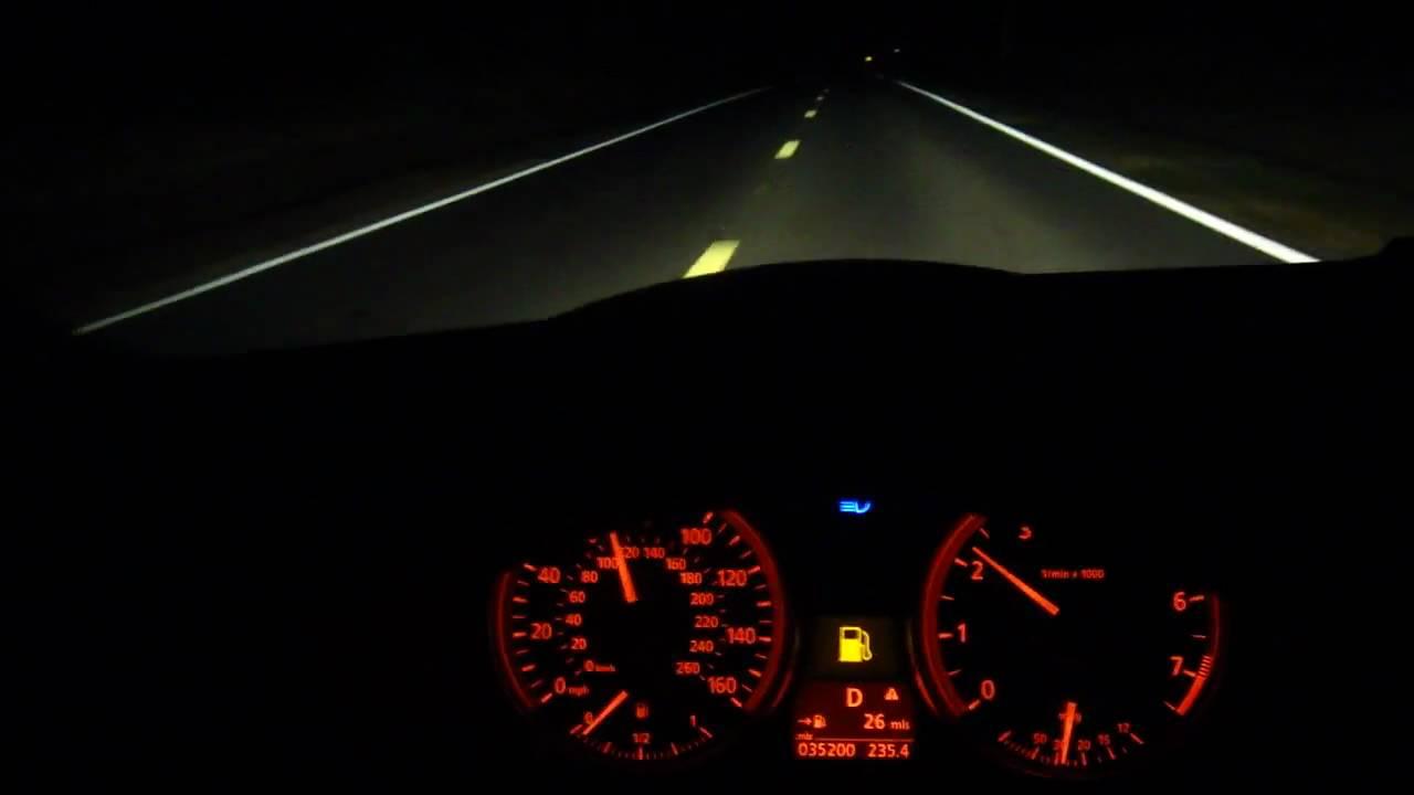 Open Road Bmw >> BMW Tram Road Faster Ride Speedometer Night Dashboard Sony Digitial - YouTube