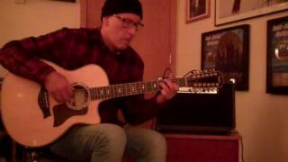 jeff allegue demos the new hartke acr5 acoustic guitar amp