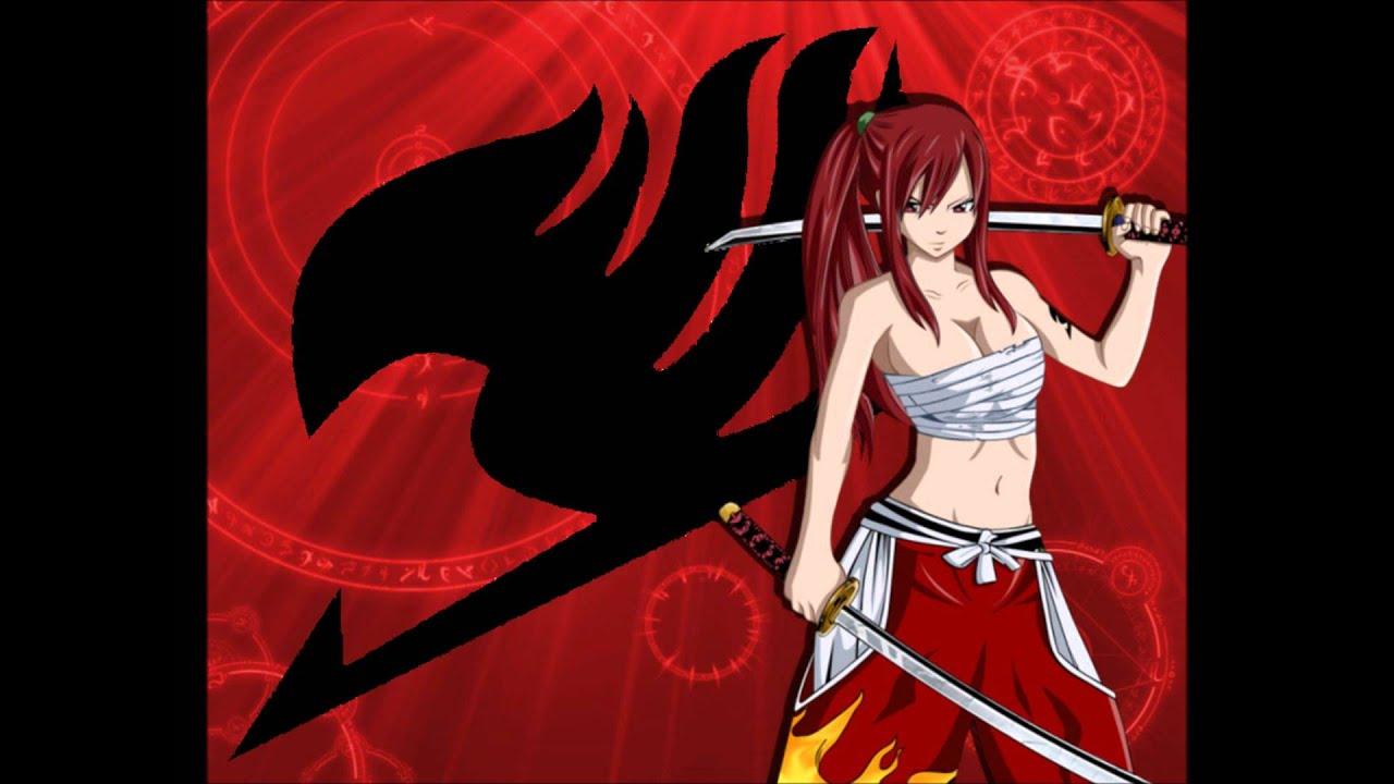 Sad Girl Wallpaper With Quotes Fairy Tail Erza Scarlet Theme Hip Hop Instrumental Remix