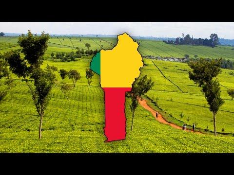 Blank Map Of Benin (Bénin) - Timelapse